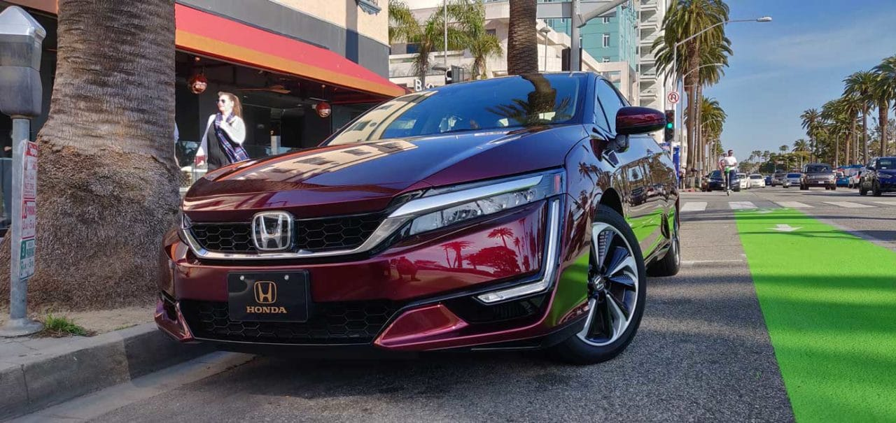 2018 Honda Clarity FCV   Live Media