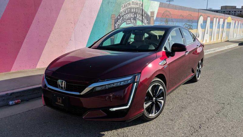 Honda Clarity FCV Review   Live Media